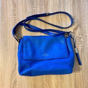 Kate Spade blue satchel